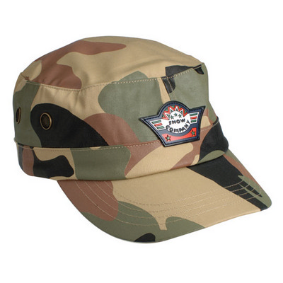 Camo Military Cap (AH817_GRACE)