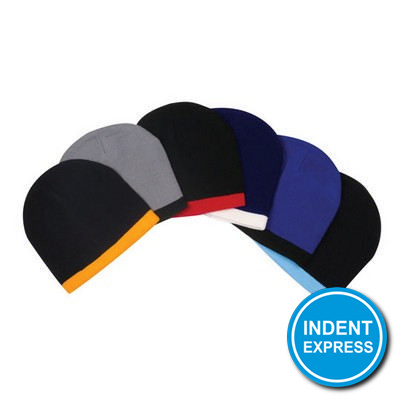 Indent Express - Acrylic Two-Tone Beanie  (HE097_GRACE)