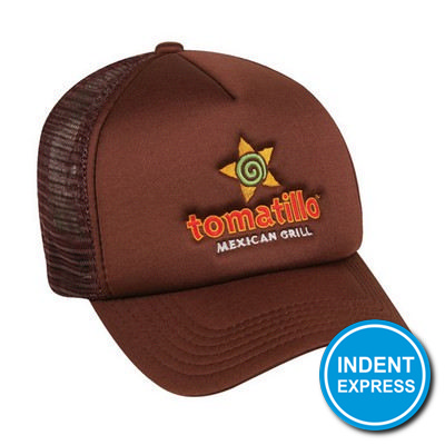 Indent Express - Trucker Mesh Cap  (HE295_GRACE)