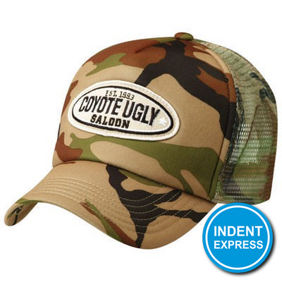 Indent Express - Camouflage Trucker Cap  (HE296_GRACE)