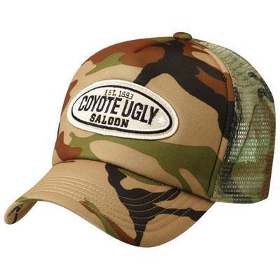 Camouflage Trucker cap  (HE296_GRACE)