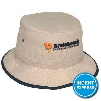 Indent Express - Microfibre Bucket Hat  (HE678_GRACE)