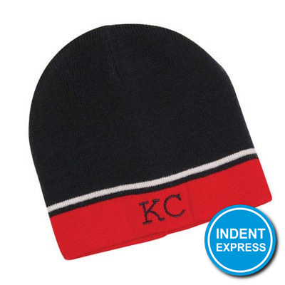 Indent Express - Two-Tone Beanie (HE740_GRACE)