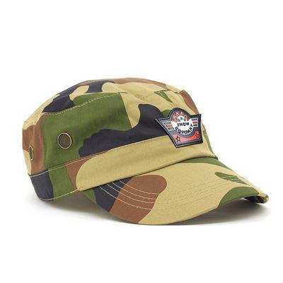 Camo Military Cap  (HE817_GRACE)