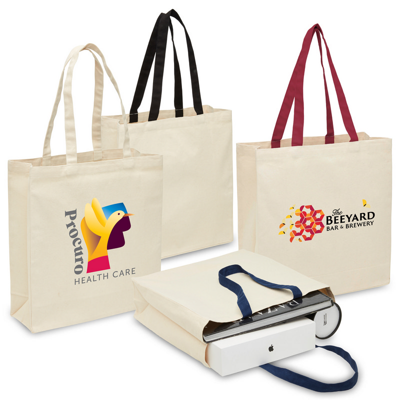Heavy Duty Canvas Tote with Gusset (2002_LEGEND)