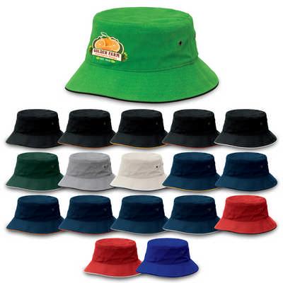 Sandwich Brim Bucket Hat (4007_LEGEND)