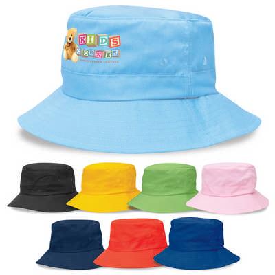 Kids Twill Bucket Hat wToggle (4363_LEGEND)
