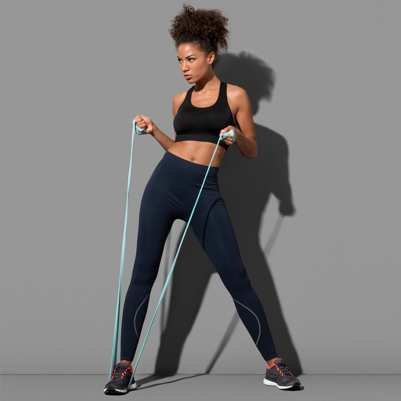Womens Active Seamless Pants (ST8990_LEGEND)