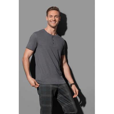 Stedman Collection Mens Henley T-Shirt (ST9430_LEGEND)