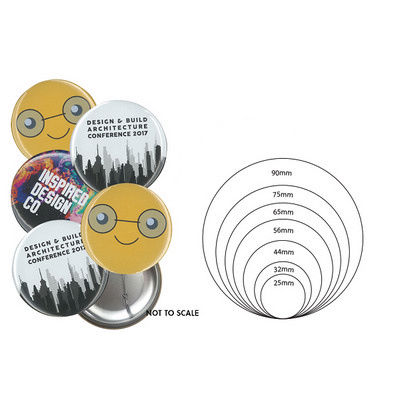 56mm Button Badge - Includes Decoration BB004_EZI