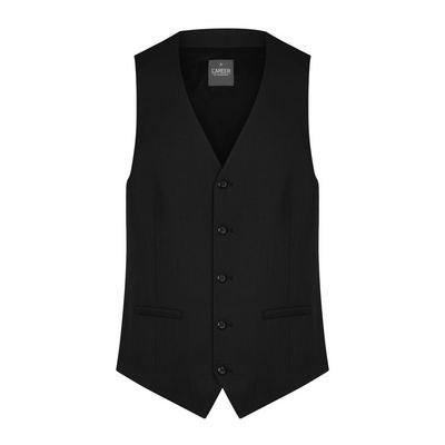 Mens Black Elliot Mens Washable Waistcoat - Black