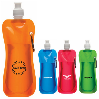 Folding Drink Bottle (D160_PB)