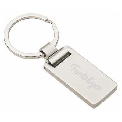 Euro Silver KeyChain  (D479_PB)