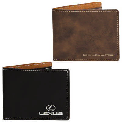AGRADE Slim Fold Wallet - Includes Decoration EX103_PB