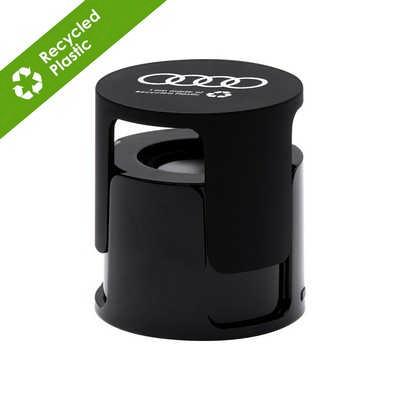 Ruma Wireless speaker in Recycled ABS - Black (FD500.ECO.06.FD_PB)