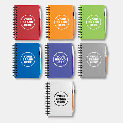 Bic Plastic Notebook (Small) (G4001_PB)