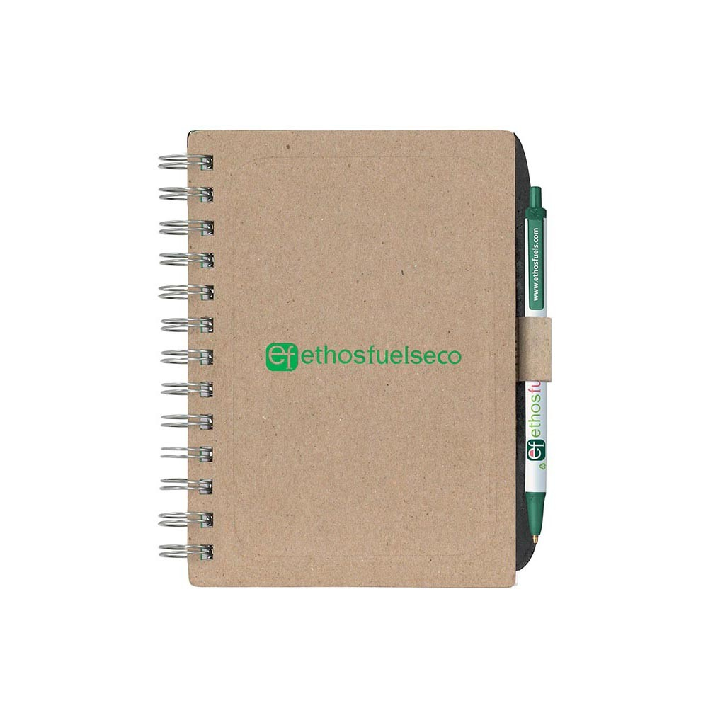 Bic Recycled Chipboard Notebook (G4013_PB)