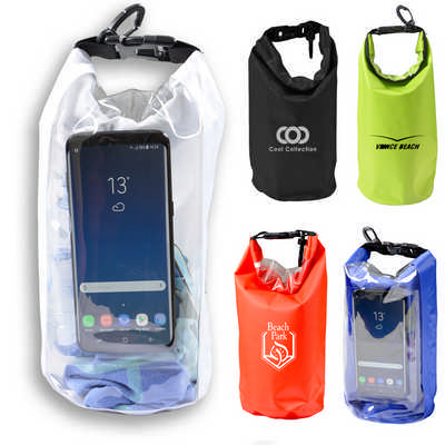 2.5 Litre Outdoor Dry Bag with Phone Window (H905_PB)