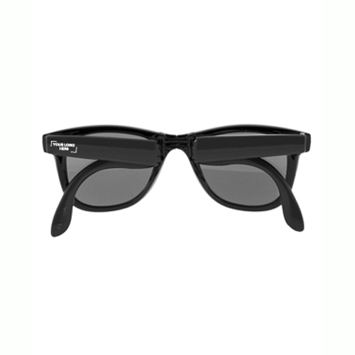 Collapsible Frame Retro Sunglasses (J621_PB)