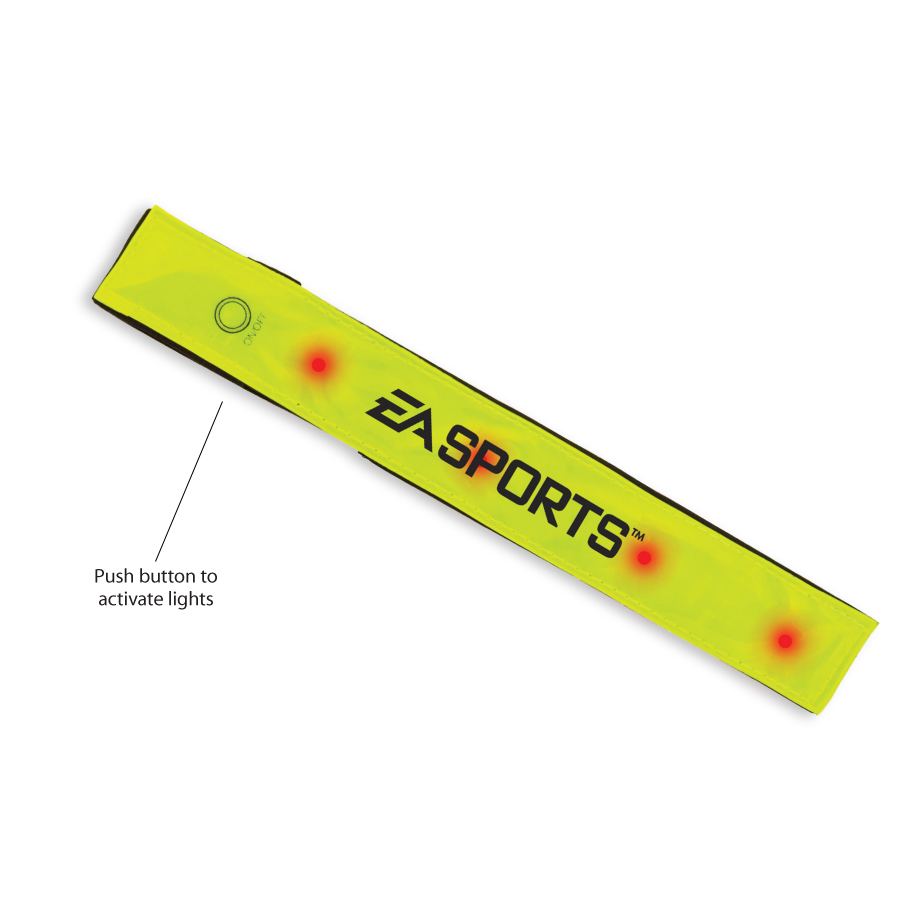Light Up Reflective Band - (printed with 1 colour(s))
