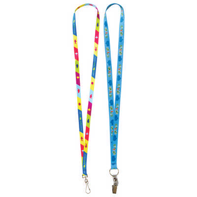 Sublimation Lanyards - 10mm Wide (L131.10_PB)