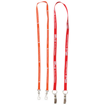 Dual Attachment Lanyards - 10mm Wide (L911.10_PB)