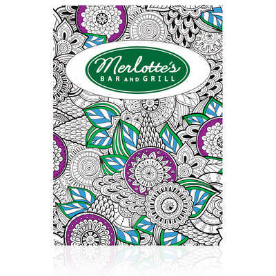 A4 Colouring Books - Includes Decoration NP130.A4_PB