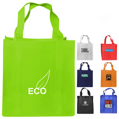 Non-Woven Shopping Bag w Gusset (RB1017_PB)
