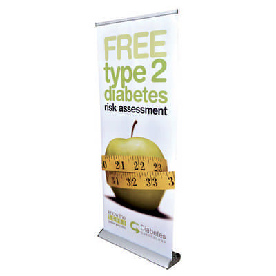 The Deluxe 850mm Roll Up Banner (RB191-850_PB)