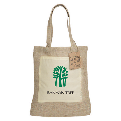 Reforest Jute Tote Bag (RB301.LE_PB)