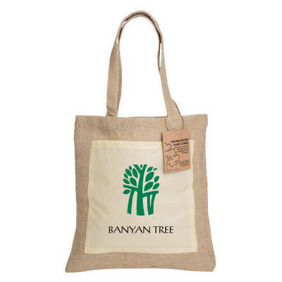 Reforest Jute Tote Bag (RB301_PB)
