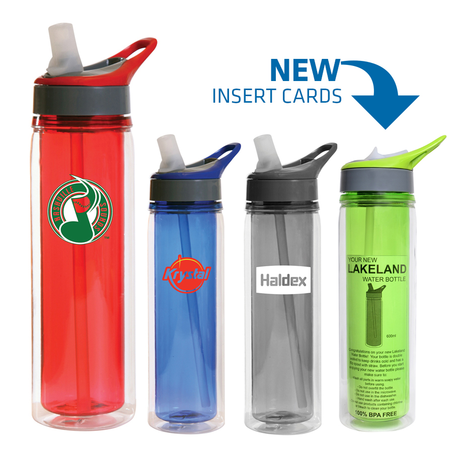 Lakeland Triton Insulated Water Bottle - (printed with 1 colour(s))