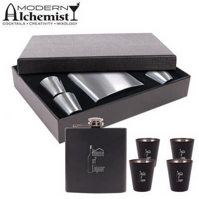 Craignure Flask Gift Set (S202_PB)