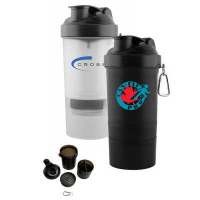 The 3 in 1 Shaker Cup - (printed with 1 colour(s)) - (S624_PB)