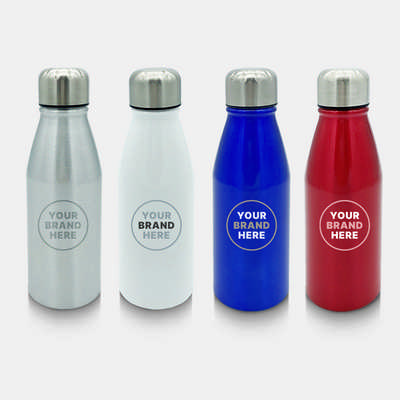 Vita Aluminium 450ml Water Bottle (S937_PB)