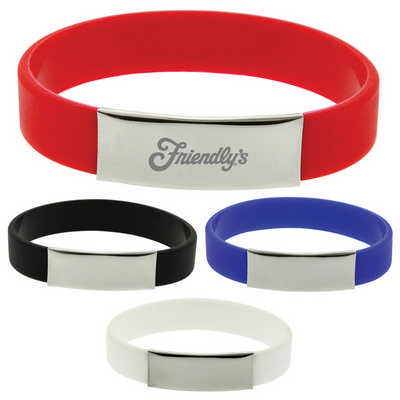 The Glarus Silicone Wrist Band (T578_PB)