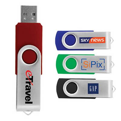 Durban 4 GB Flash Flip Drive (U904_PB)