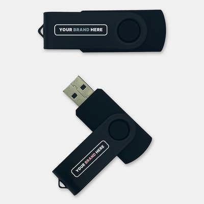 Swivel 8GB Flash Drive USB (U908_PB)