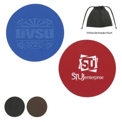 COSD98 Bonded Leather Coaster COSD98_OC