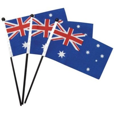 FLSE01 Hand Flags - (printed with 1 colour(s)) FLSE01_OC