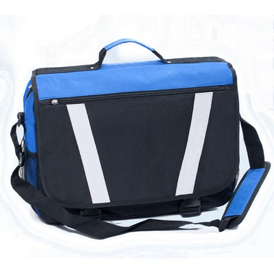 Hunter 17 inch Laptop Satchel Bag - (printed with 1 colour(s)) SATB10_OC