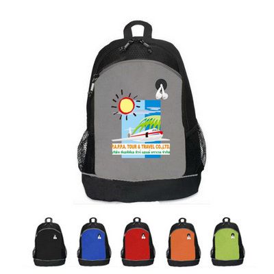 600D Poly Celebration School Backpack - (printed with 1 colour(s)) OCBMS171_OC