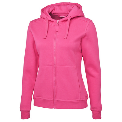 JB`s Ladies Full Zip Fleecy Hoodie  (3HJ1_JBNZ)