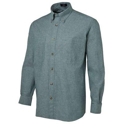 JB`s L/S Chambray Shirt  (4CFL_JBNZ)