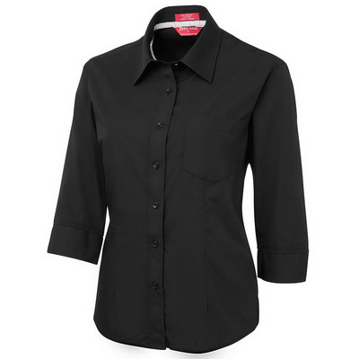 JB`s Ladies 3/4 Contrast Shirt