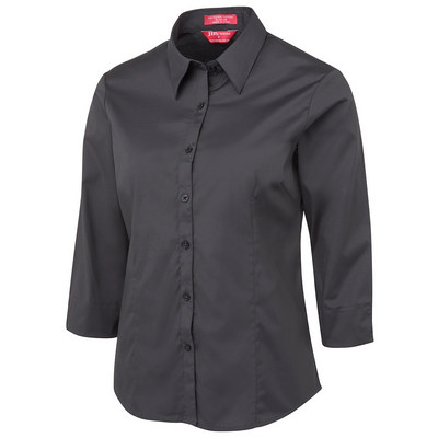 JB`s Ladies Urban 3/4 Poplin Shirt