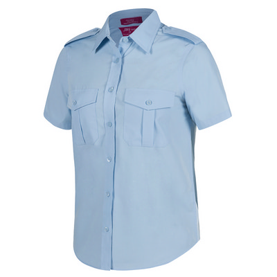 JB`s Ladies S/S Epaulette Shirt