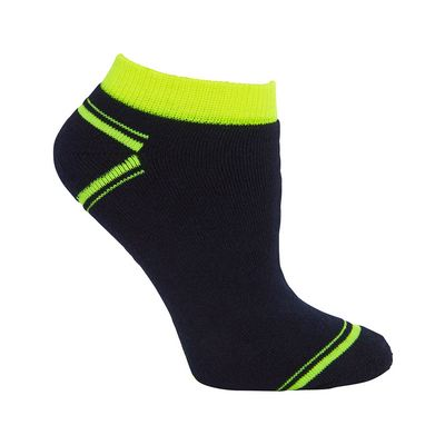 JB`s Hi Vis Ankle Sock (3 Pack)