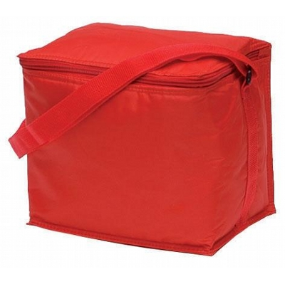 Basic 6 Pack Cooler Red (2301Rd_KEY)