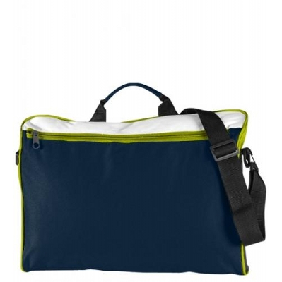 Spectrum Document Folio Navy/White/Lime